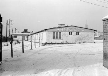 Zdjęcie archiwalne siedziby MPWIK przy ul. Szyb Andrzeja