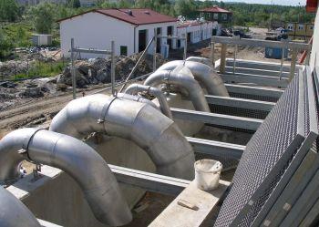 Budowa oczyszczalni Halemba