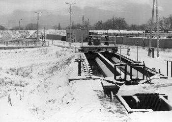 Zdjęcie archiwalne Oczyszczalni ścieków Orzegów