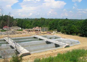 Budowa oczyszczalni Orzegów 2007